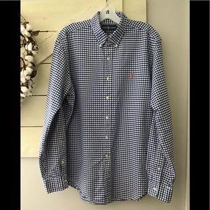 Ralph Lauren long sleeve button down shirt LG